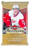 2015/16 Upper Deck Fleer Showcase Hockey Hobby Pack