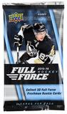 2015/16 Upper Deck Full Force Hockey Hobby Pack