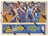 2015/16 Panini Absolute Basketball Hobby 10-Box Case- DACW Live 30 Spot Random Team Break #3