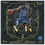 2015/16 Panini Noir Basketball Hobby Case- DACW Live 30 Spot Random Team Break #2