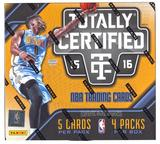 2015/16 Panini Totally Certified Basketball Hobby 15-Box Case- DACW Live 30 Spot Random Team Break #11