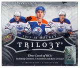 2015/16 Upper Deck Trilogy Hockey Hobby Box