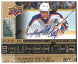 2015/16 Upper Deck Buybacks Hockey Hobby Mini-Box