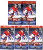2015/16 Upper Deck Series 1 Hockey 12-Pack Box (Lot of 5)