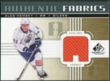 2011/12 Upper Deck SP Game Used Authentic Fabrics Gold #AFAH1 Ales Hemsky A C