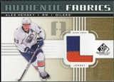 2011/12 Upper Deck SP Game Used Authentic Fabrics Gold #AFAH3 Ales Hemsky L C