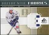 2011/12 Upper Deck SP Game Used Authentic Fabrics Gold #AFAH2 Ales Hemsky E C