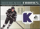 2011/12 Upper Deck SP Game Used Authentic Fabrics Gold #AFAK3 Anze Kopitar K C