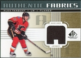 2011/12 Upper Deck SP Game Used Authentic Fabrics Gold #AFAT1 Alex Tanguay A C