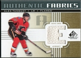2011/12 Upper Deck SP Game Used Authentic Fabrics Gold #AFAT2 Alex Tanguay E C