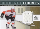 2011/12 Upper Deck SP Game Used Authentic Fabrics Gold #AFCG4 Claude Giroux W D