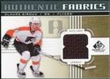 2011/12 Upper Deck SP Game Used Authentic Fabrics Gold #AFCG2 Claude Giroux 8 C