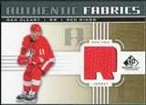 2011/12 Upper Deck SP Game Used Authentic Fabrics Gold #AFDC2 Dan Cleary R D