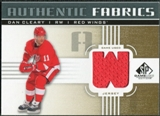 2011/12 Upper Deck SP Game Used Authentic Fabrics Gold #AFDC3 Dan Cleary W C