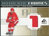 2011/12 Upper Deck SP Game Used Authentic Fabrics Gold #AFDC1 Dan Cleary 1 C