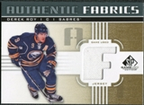 2011/12 Upper Deck SP Game Used Authentic Fabrics Gold #AFDR2 Derek Roy F C