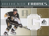 2011/12 Upper Deck SP Game Used Authentic Fabrics Gold #AFEM2 Evgeni Malkin G D
