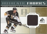 2011/12 Upper Deck SP Game Used Authentic Fabrics Gold #AFEM4 Evgeni Malkin O C
