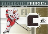 2011/12 Upper Deck SP Game Used Authentic Fabrics Gold #AFES2 Eric Staal C C