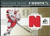 2011/12 Upper Deck SP Game Used Authentic Fabrics Gold #AFES4 Eric Staal N C