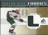 2011/12 Upper Deck SP Game Used Authentic Fabrics Gold #AFGL3 Guillaume Latendresse L C