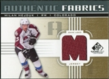 2011/12 Upper Deck SP Game Used Authentic Fabrics Gold #AFHE4 Milan Hejduk M D