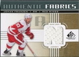 2011/12 Upper Deck SP Game Used Authentic Fabrics Gold #AFJF3 Johan Franzen N C