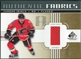 2011/12 Upper Deck SP Game Used Authentic Fabrics Gold #AFJI2 Jarome Iginla I D