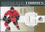 2011/12 Upper Deck SP Game Used Authentic Fabrics Gold #AFJI1 Jarome Iginla G C