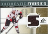 2011/12 Upper Deck SP Game Used Authentic Fabrics Gold #AFJS3 Jason Spezza S C