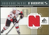 2011/12 Upper Deck SP Game Used Authentic Fabrics Gold #AFJS2 Jason Spezza N C