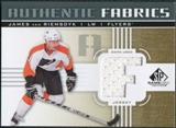 2011/12 Upper Deck SP Game Used Authentic Fabrics Gold #AFJV1 James van Riemsdyk F D