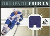 2011/12 Upper Deck SP Game Used Authentic Fabrics Gold #AFKE1 Phil Kessel A C