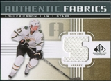 2011/12 Upper Deck SP Game Used Authentic Fabrics Gold #AFLE3 Loui Eriksson S D