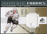 2011/12 Upper Deck SP Game Used Authentic Fabrics Gold #AFLE1 Loui Eriksson A C