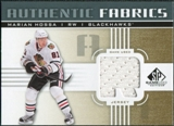 2011/12 Upper Deck SP Game Used Authentic Fabrics Gold #AFMH3 Marian Hossa R D