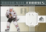 2011/12 Upper Deck SP Game Used Authentic Fabrics Gold #AFMH4 Marian Hossa W C