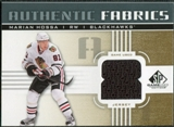 2011/12 Upper Deck SP Game Used Authentic Fabrics Gold #AFMH2 Marian Hossa 8 C