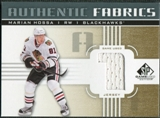 2011/12 Upper Deck SP Game Used Authentic Fabrics Gold #AFMH1 Marian Hossa 1 C