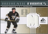 2011/12 Upper Deck SP Game Used Authentic Fabrics Gold #AFML3 Mario Lemieux M C