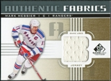 2011/12 Upper Deck SP Game Used Authentic Fabrics Gold #AFMM1 Mark Messier B C