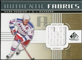 2011/12 Upper Deck SP Game Used Authentic Fabrics Gold #AFMM4 Mark Messier U C