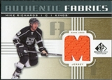2011/12 Upper Deck SP Game Used Authentic Fabrics Gold #AFMR4 Mike Richards M D