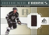 2011/12 Upper Deck SP Game Used Authentic Fabrics Gold #AFMR2 Mike Richards I D