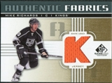 2011/12 Upper Deck SP Game Used Authentic Fabrics Gold #AFMR3 Mike Richards K D
