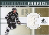 2011/12 Upper Deck SP Game Used Authentic Fabrics Gold #AFMR1 Mike Richards E C