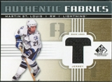 2011/12 Upper Deck SP Game Used Authentic Fabrics Gold #AFMS3 Martin St. Louis T D