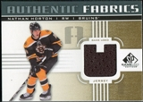 2011/12 Upper Deck SP Game Used Authentic Fabrics Gold #AFNH4 Nathan Horton U C