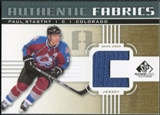 2011/12 Upper Deck SP Game Used Authentic Fabrics Gold #AFPA4 Paul Stastny C C