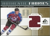 2011/12 Upper Deck SP Game Used Authentic Fabrics Gold #AFPA2 Paul Stastny 2 C